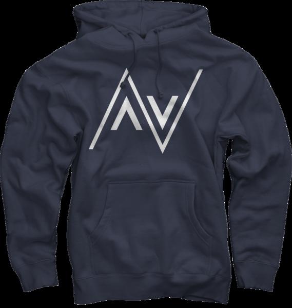 AV Club Navy Pullover Hoodie