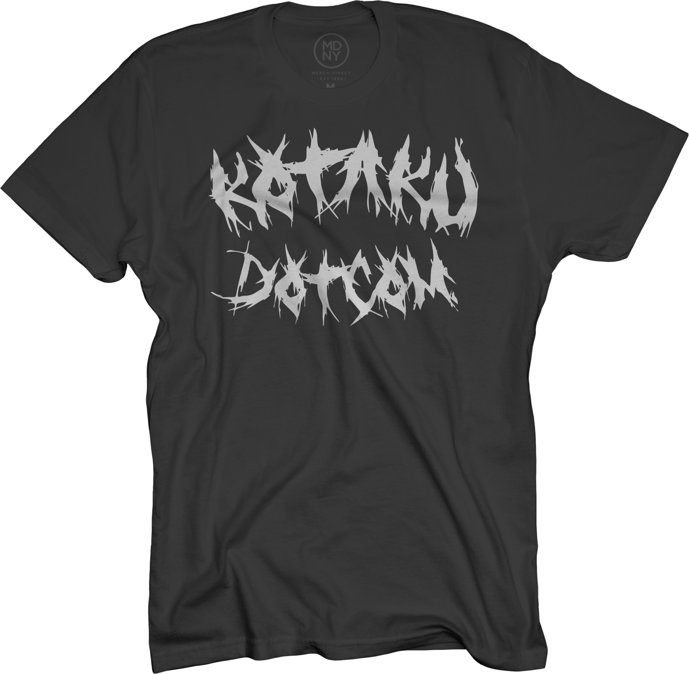 Metal on Black T-Shirt
