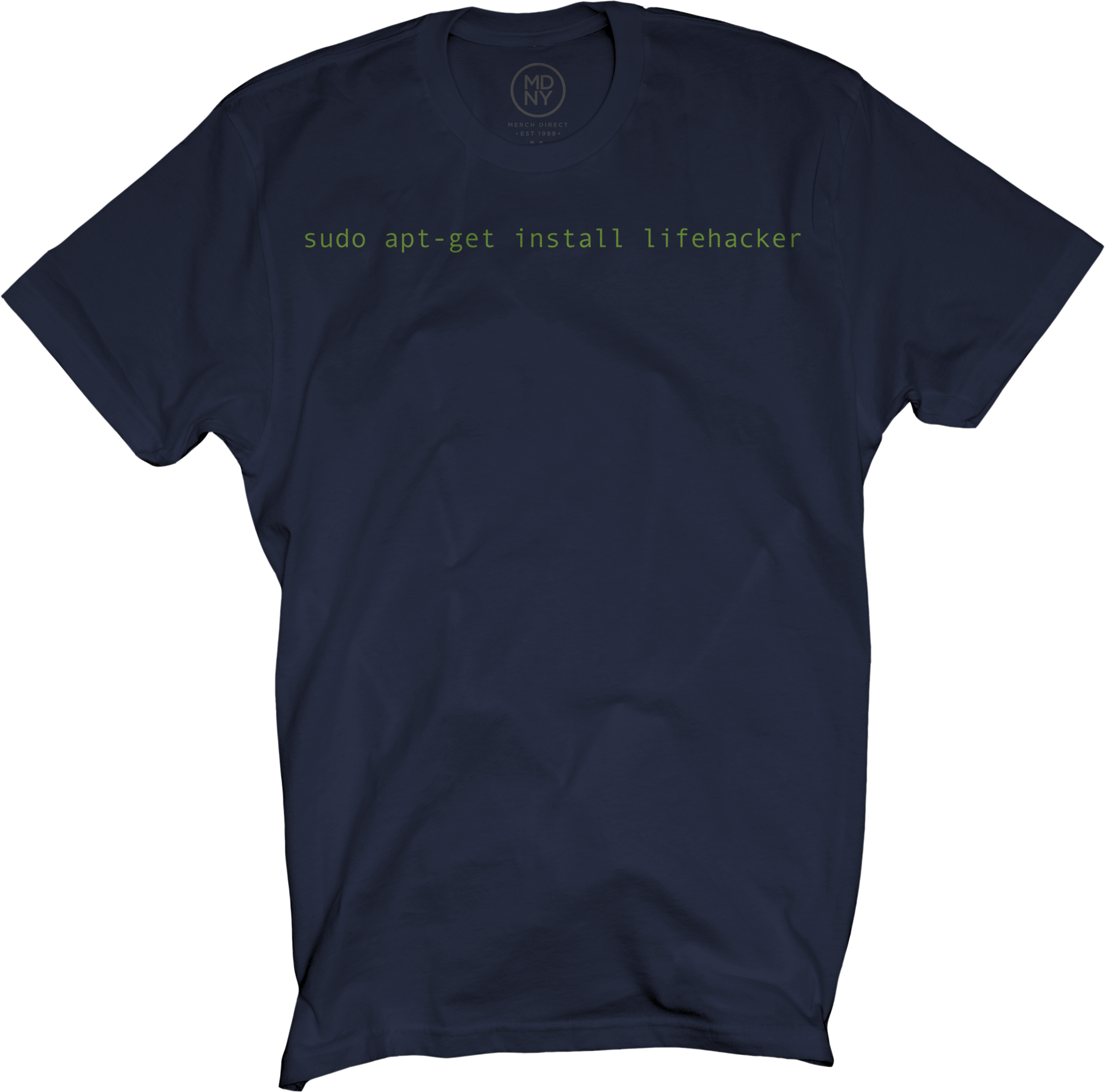 Code Navy Blue T-Shirt