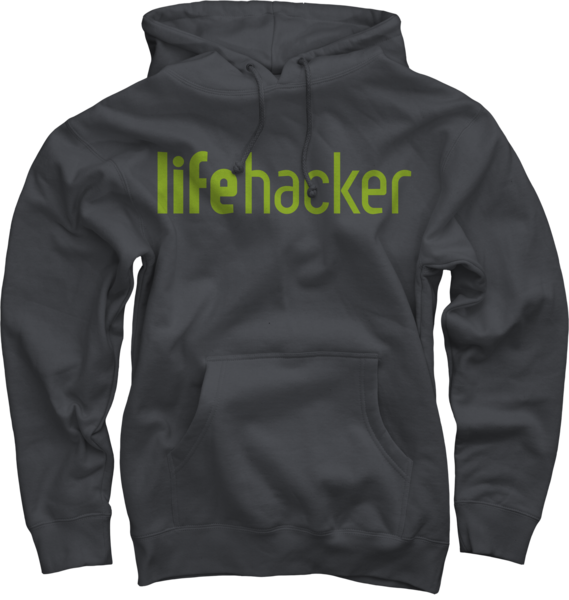 Lifehacker Charcoal Pullover Hoodie