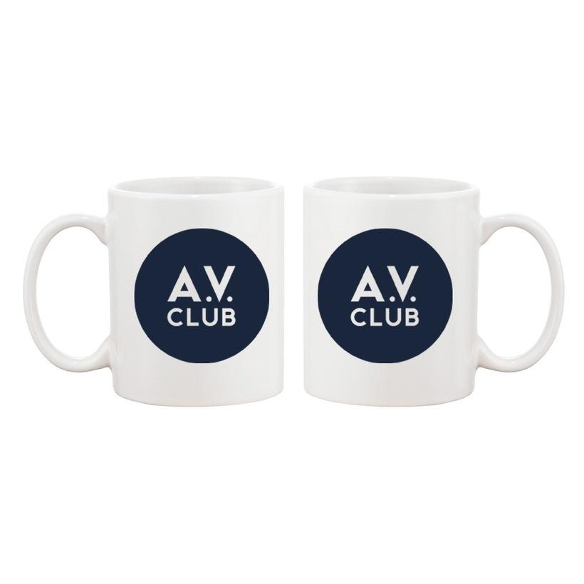 Throwback Logo AV Club Coffee Mug