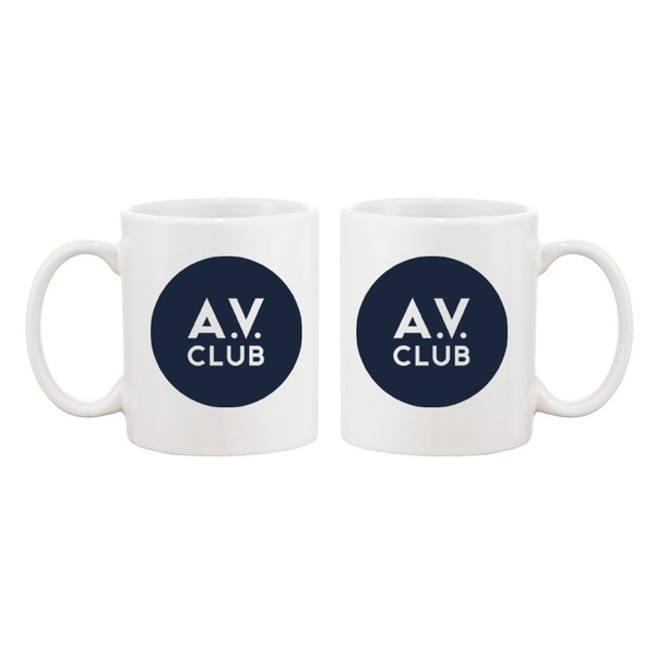 Throwback Logo AV Club Coffee Mug