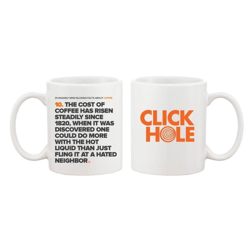 The Cost of Coffee Mug