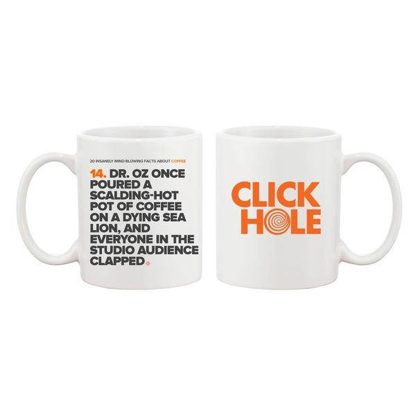 Dr. Oz Once Poured Coffee Mug