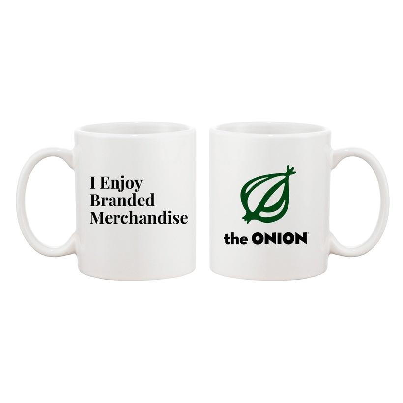 I Enjoy Branded Merchandise Coffee Mug