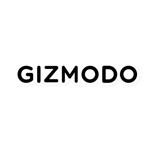 Gizmodo Die-Cut Sticker 3 Pack