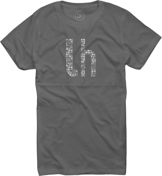 Lifehacker Pattern on Asphalt T-Shirt - Women's