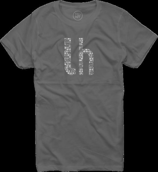 Lifehacker Pattern on Asphalt T-Shirt - Women's