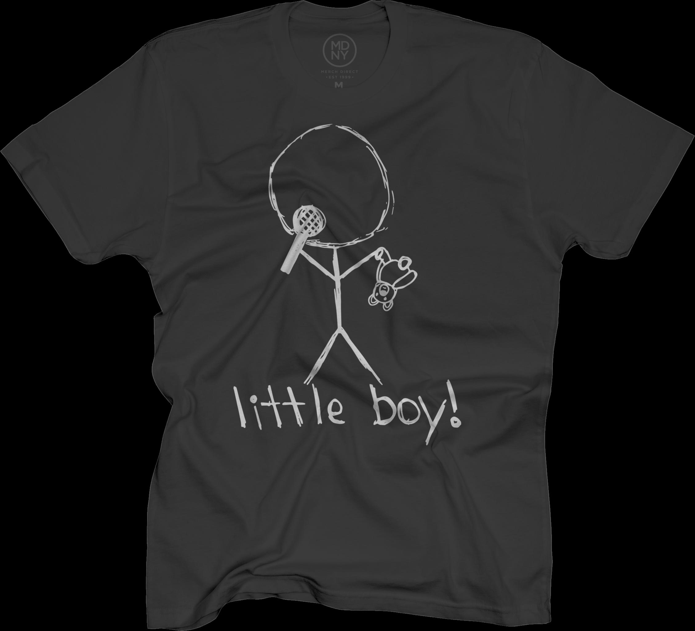 Little Boy Black T-Shirt