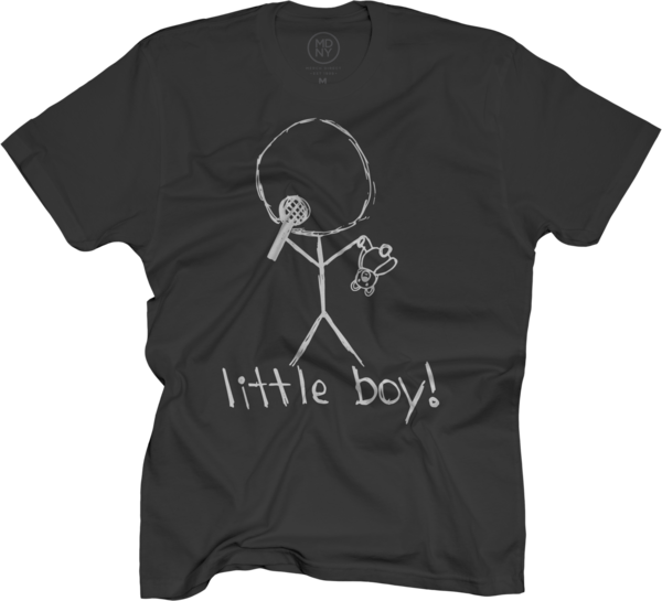 Little Boy Black T-Shirt