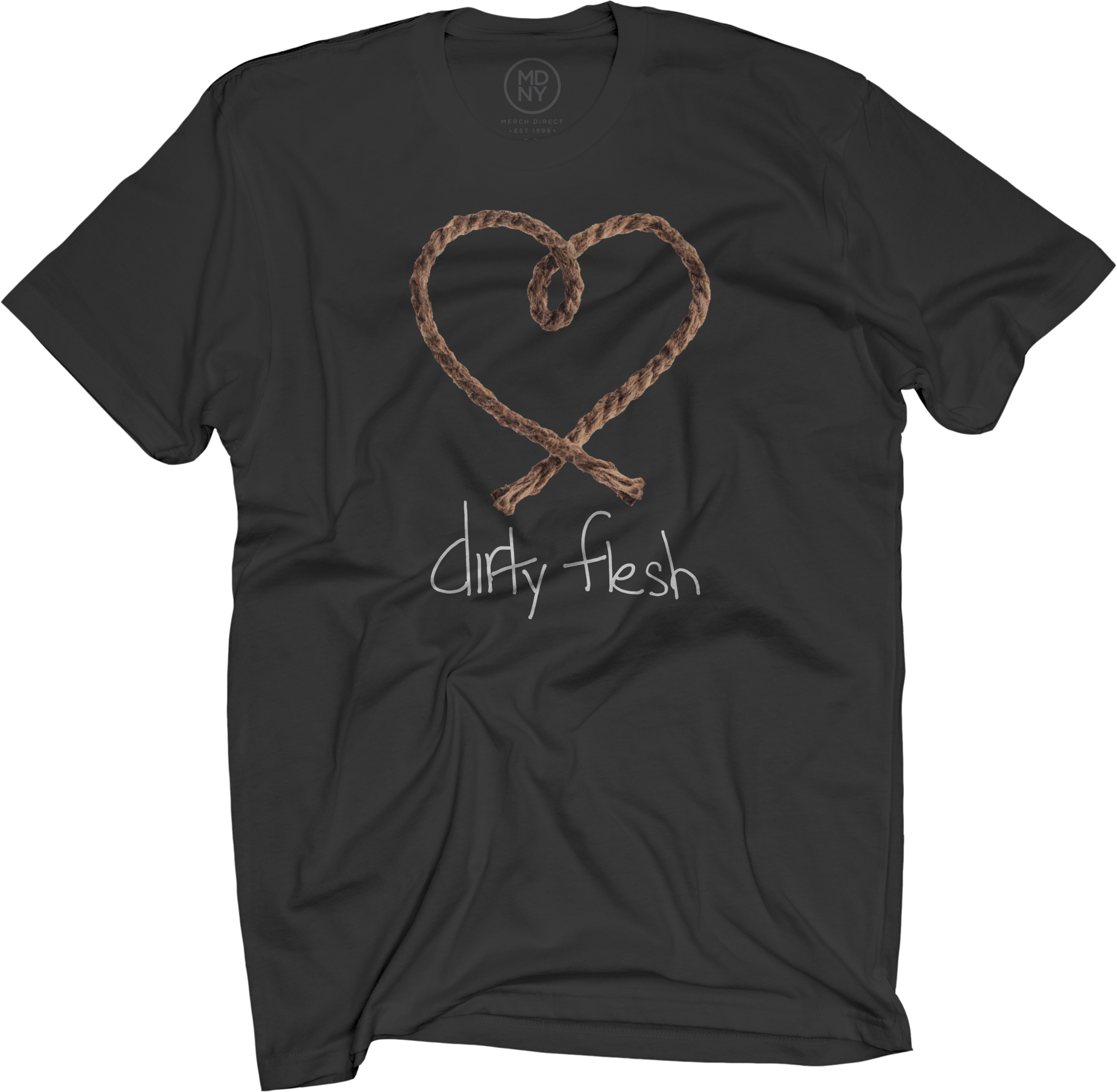 Dirty Flesh Black T-Shirt