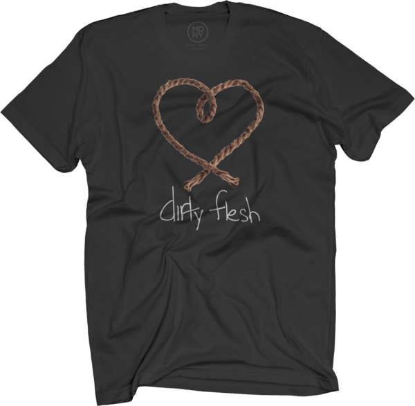 Dirty Flesh Black T-Shirt