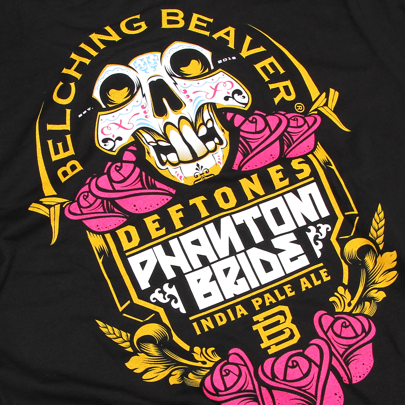 Belching Beaver Phantom Bride T-Shirt