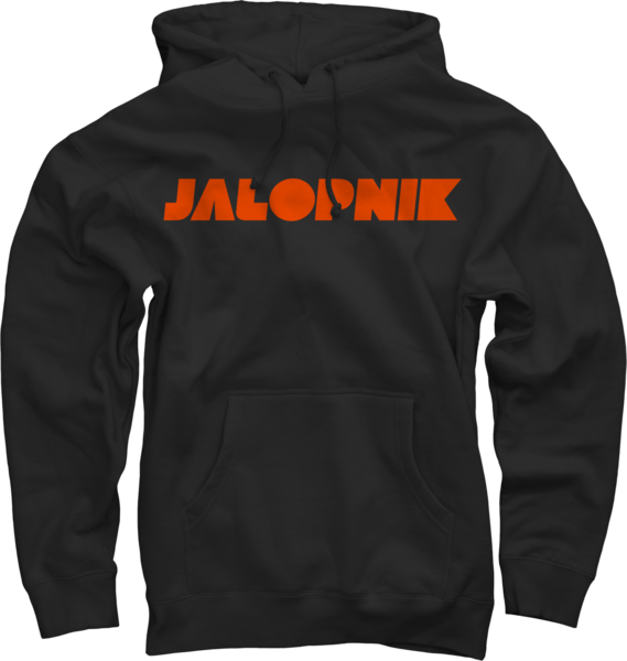Jalopnik Logo on Black Pullover Hoodie