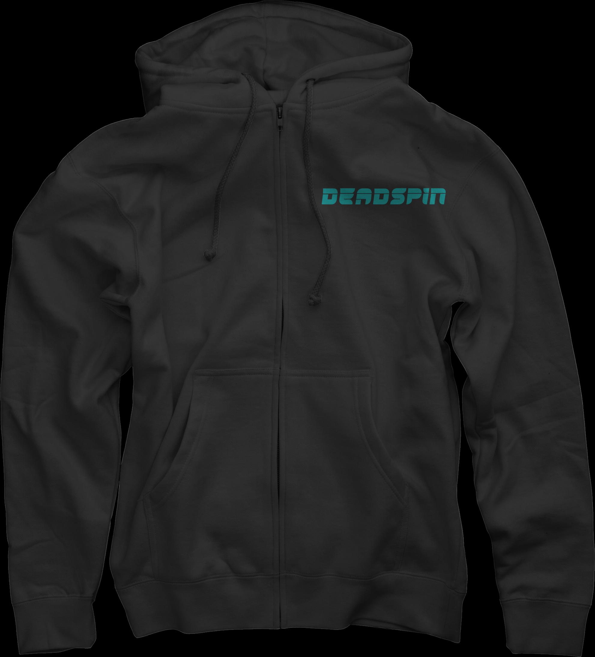 Deadspin on Black Zip Up Hoodie