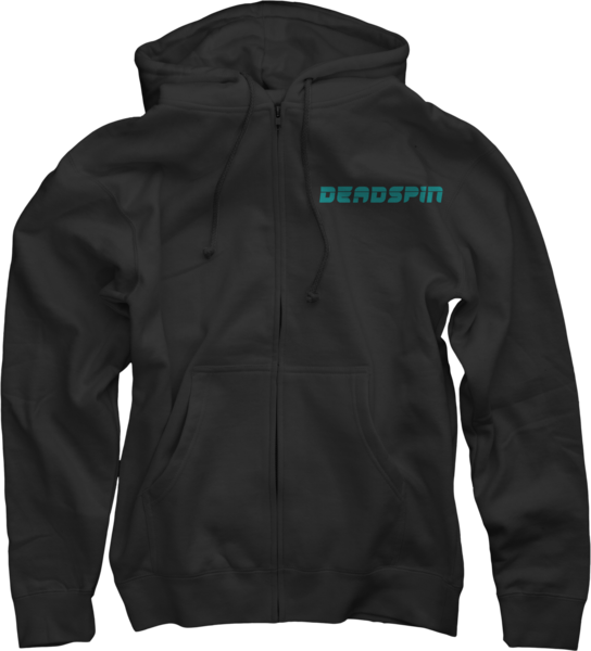 Deadspin on Black Zip Up Hoodie