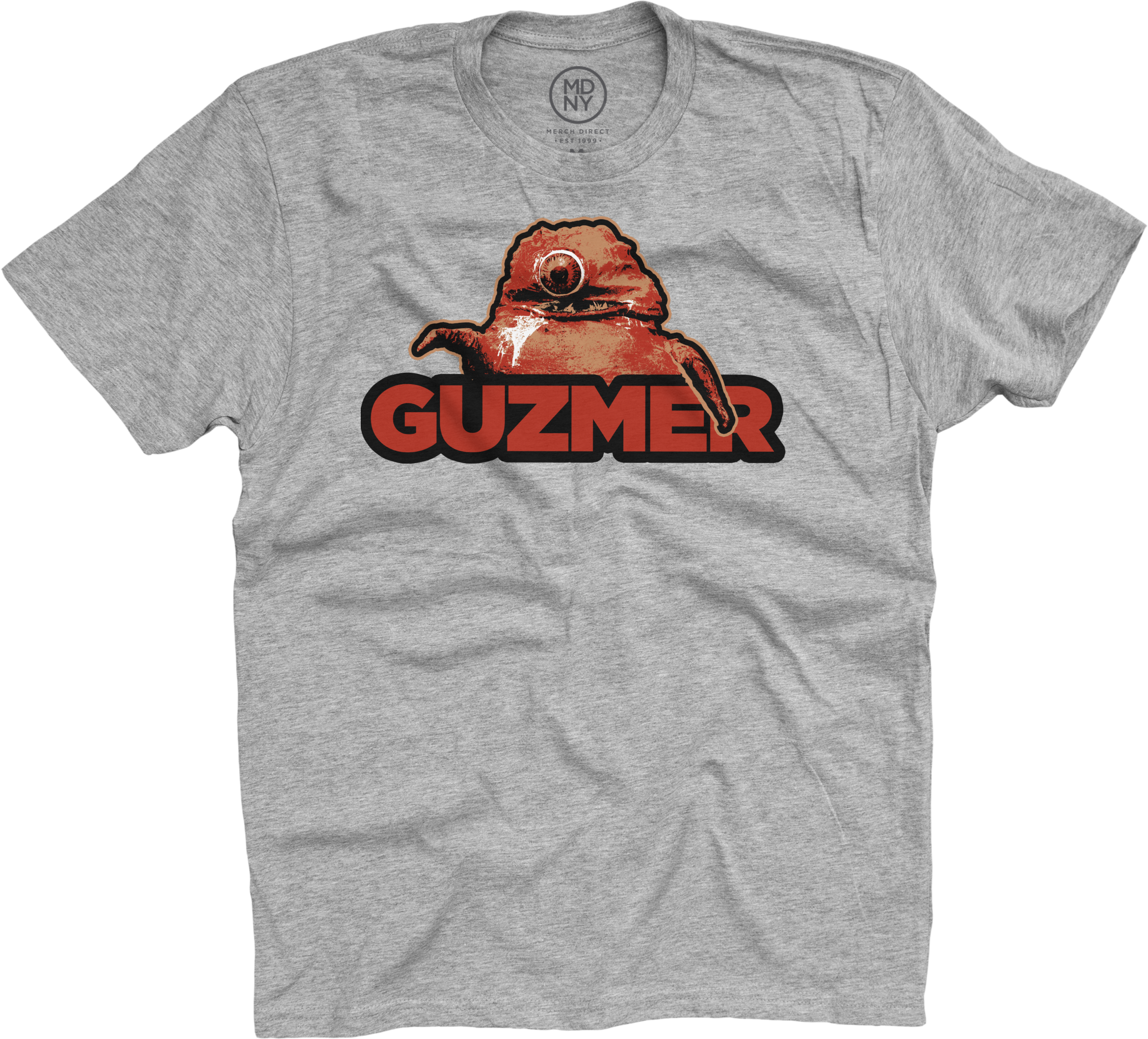Guzmer on Heather Grey T-Shirt