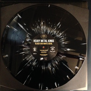 Heavy Metal Kings - Black God White Devil (Black-White Splatter 2LP)