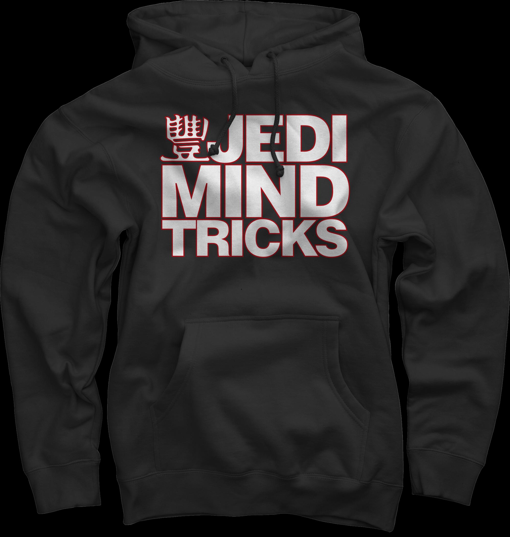 JMT Stacked Logo White/Red on Black Pullover