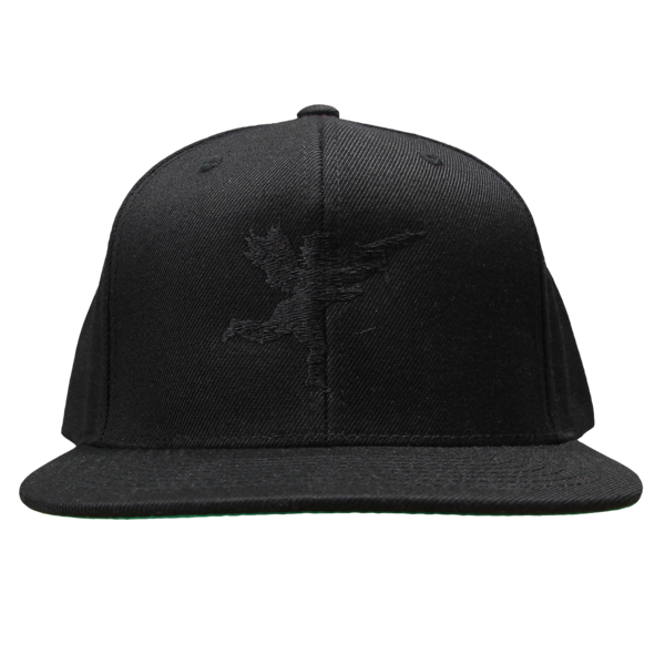 Cupid on Black Snapback