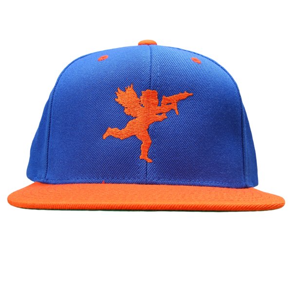 Cupid on Royal/Orange Snapback