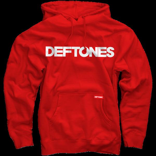Deftones Red Pullover Sweatshirt