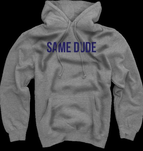 Same Dude Hoodie - Grey