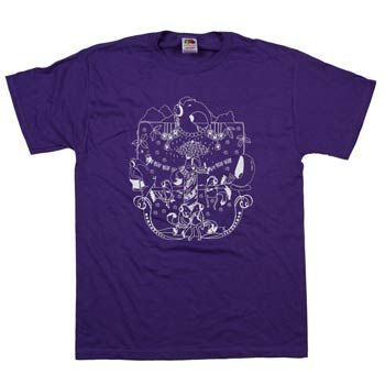 Benefit for Bandwith Anteaters on Unisex Purple T-Shirt