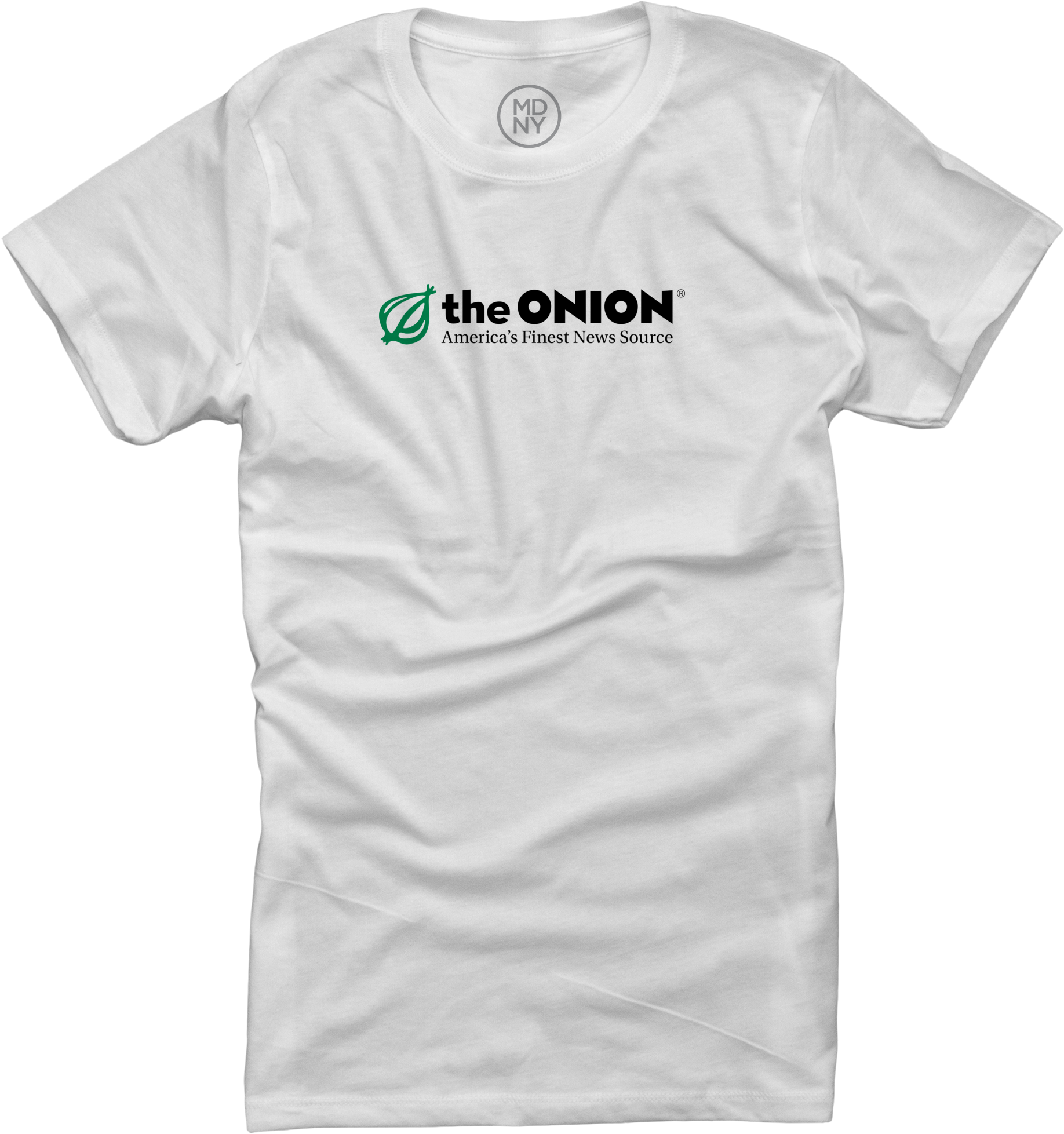 The Onion on Women's White T-shirt