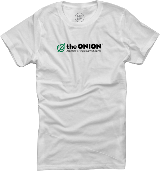 The Onion on Women's White T-shirt