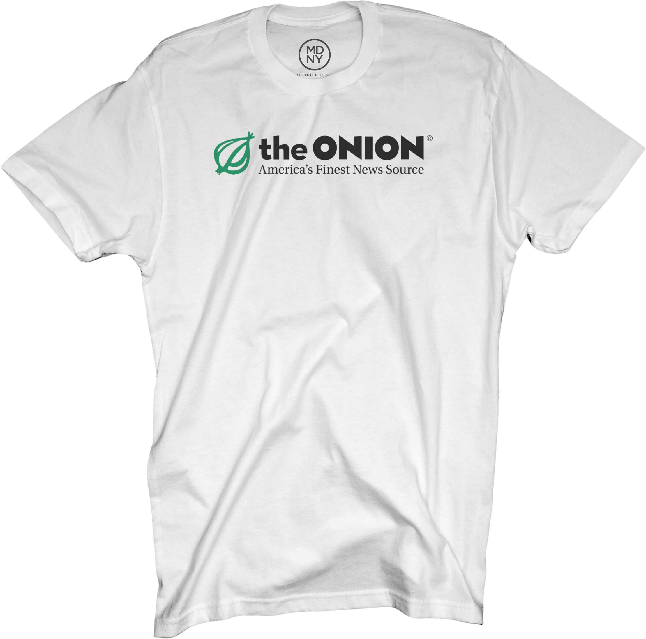 The Onion on White T-Shirt
