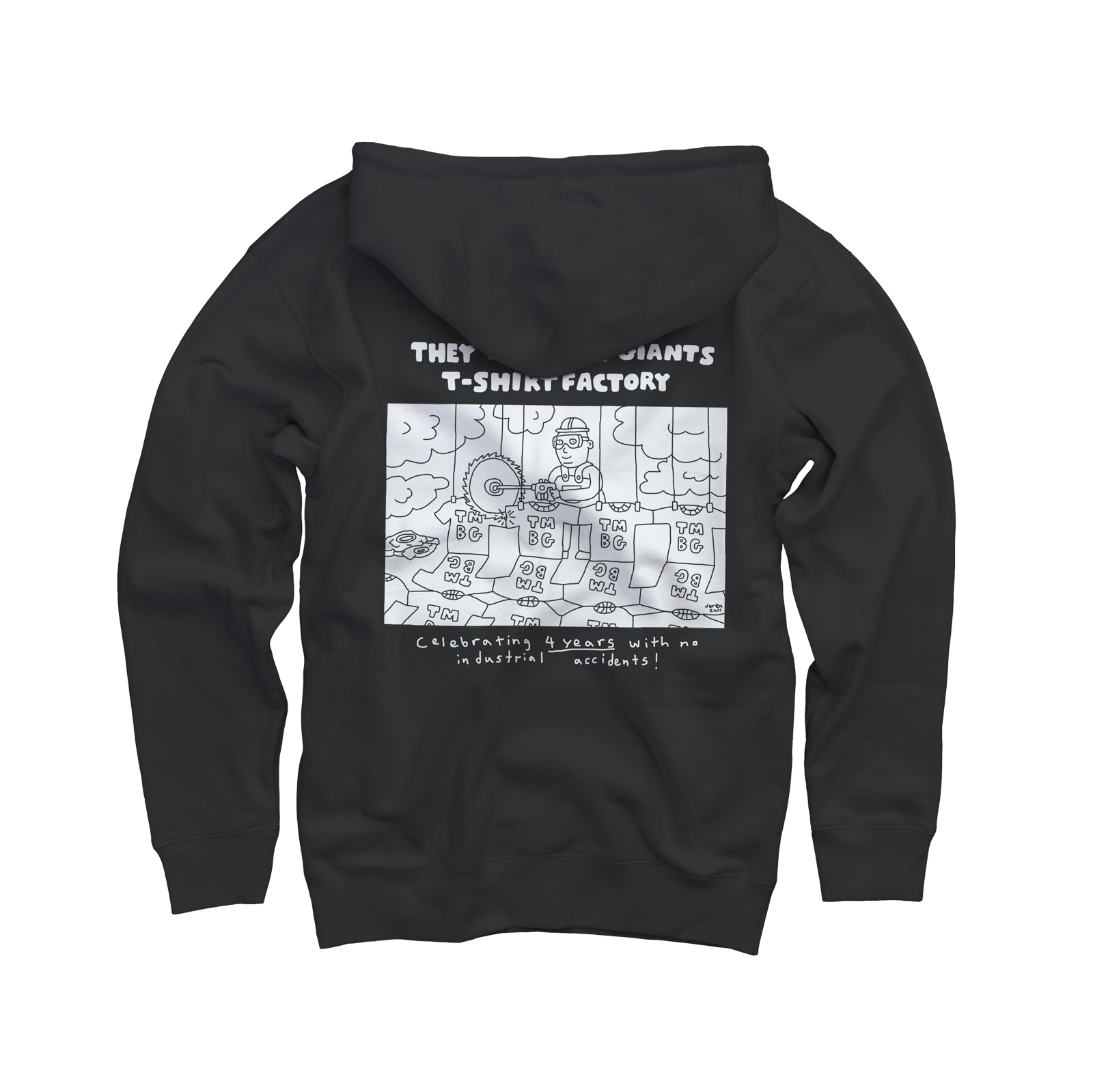 97fa0b18 They Might Be Giants - T-Shirt Factory Road Crew Zip Hoodie