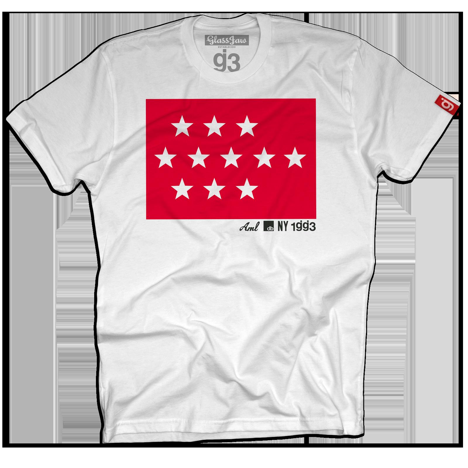 Stars Flag White T-Shirt