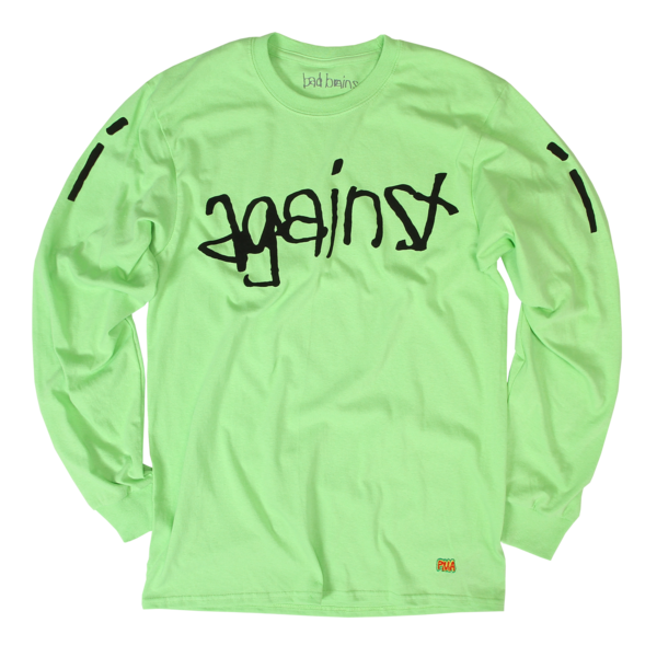 I Against I Track List Green Long Sleeve