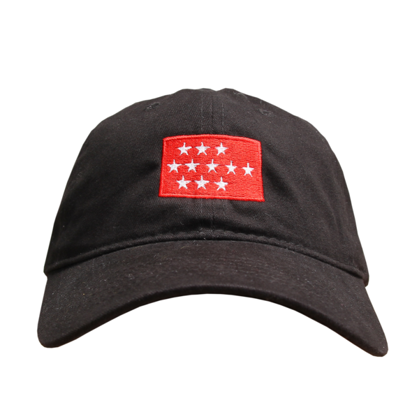 Stars Black Dad Hat