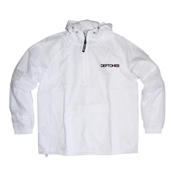 Neon White Pony White Windbreaker