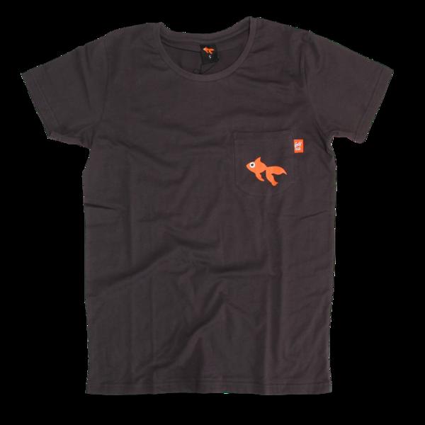 GoldFish Grey Pocket T-Shirt