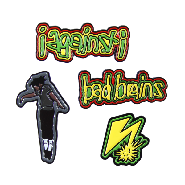 I Against I Enamel Pin Pack