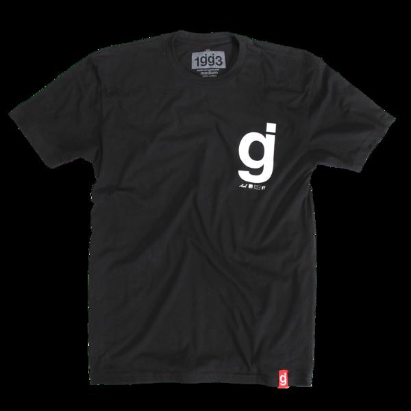 Stars Black T-Shirt