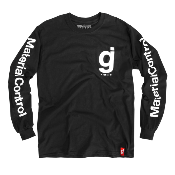 Material Control Black Long Sleeve