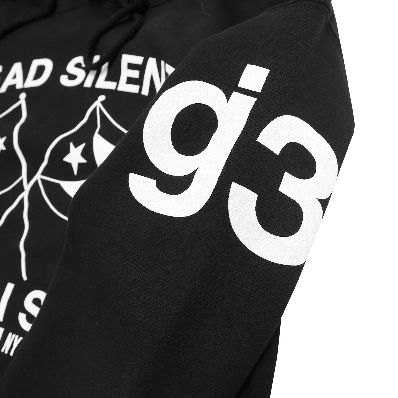 Dead Silent Black Pullover