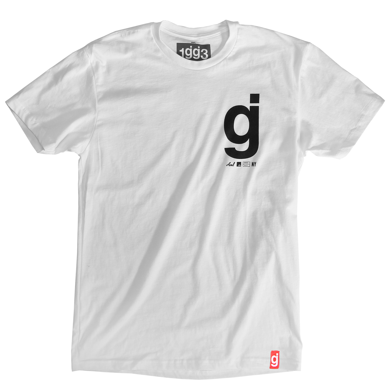 Material Control White T-Shirt