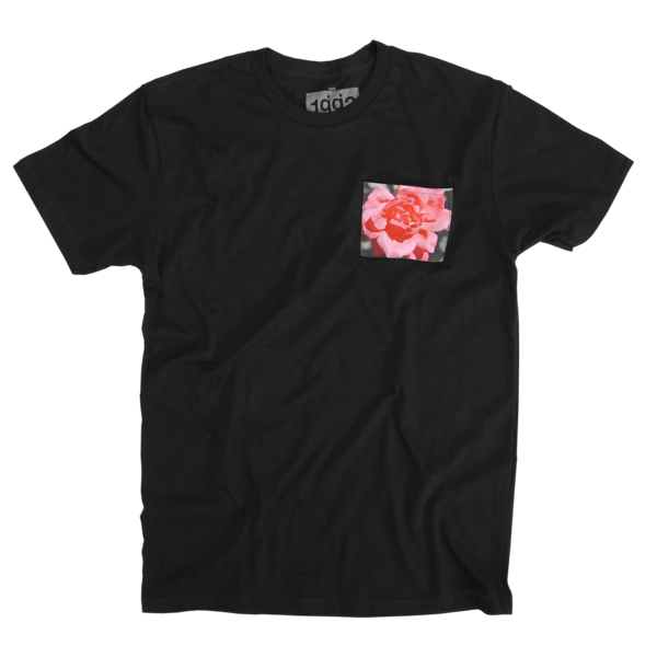 Material Control Black Pocket T-Shirt