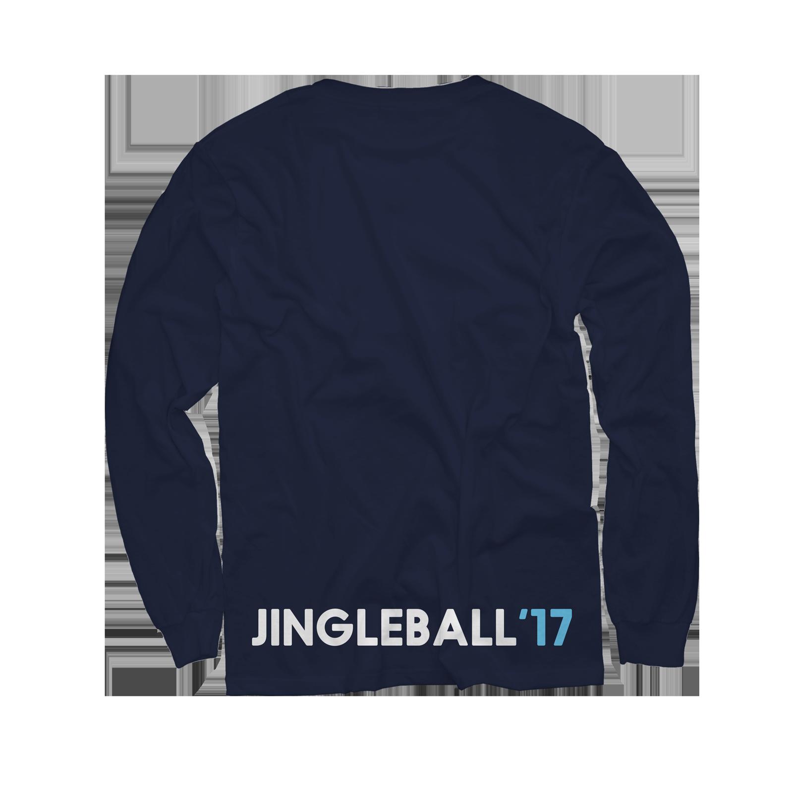 2017 Jingle Ball Tour Navy Longsleeve