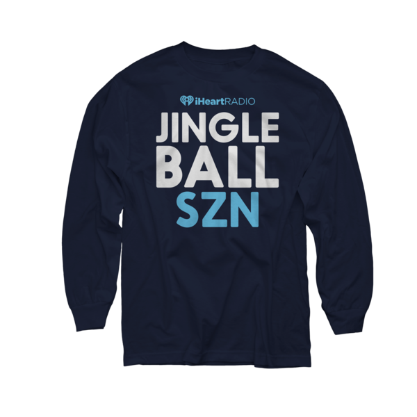 2017 Jingle Ball Tour Navy Longsleeve