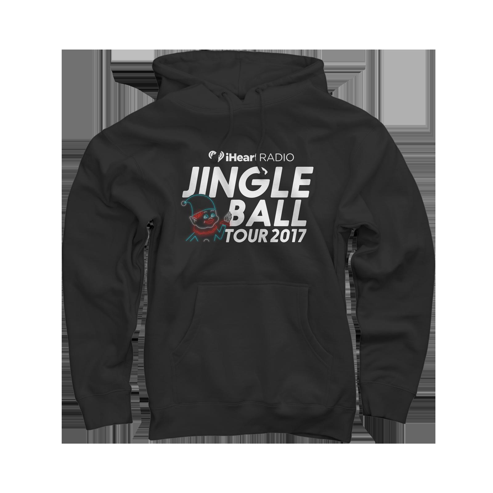 2017 Jingle Ball Tour Black Pullover Sweatshirts