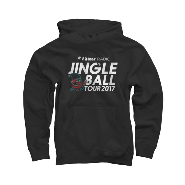2017 Jingle Ball Tour Black Pullover Sweatshirts