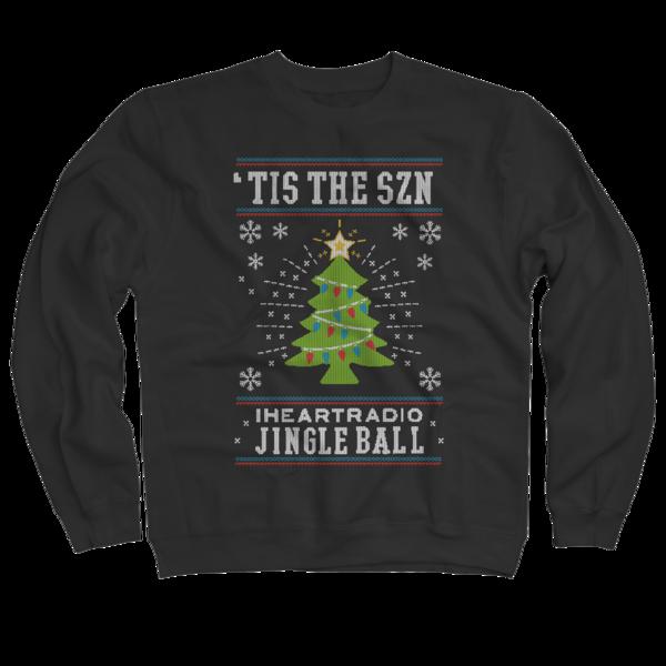 2017 Jingle Ball Tour Black Holiday Sweater