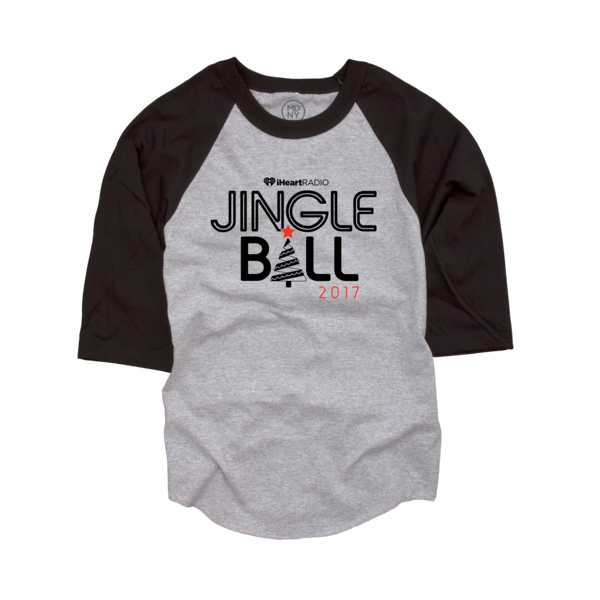 2017 Jingle Ball Tour Baseball Tee