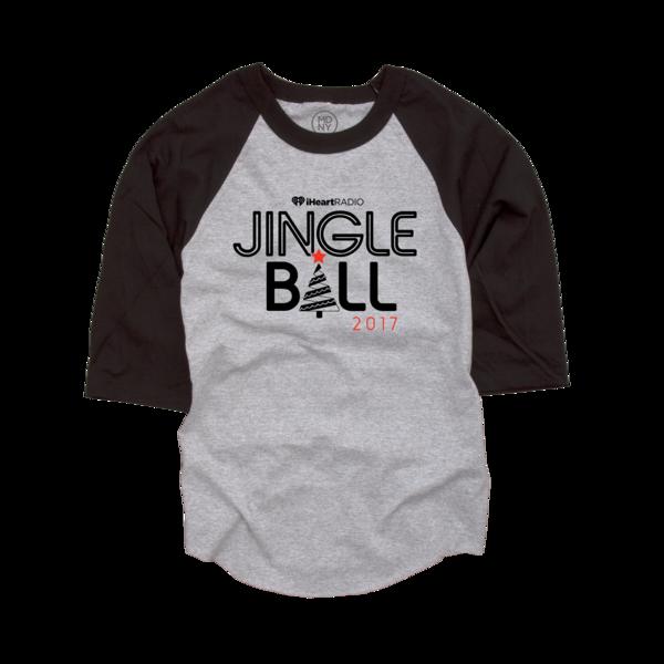 2017 Jingle Ball Tour Baseball Tee